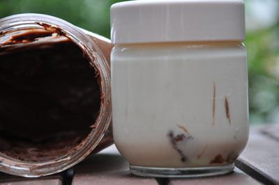Yaourt au Nutella